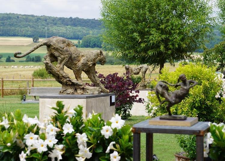 3e Édition du Jardin de Sculptures Villas à Soulaucourt sur Mouzon