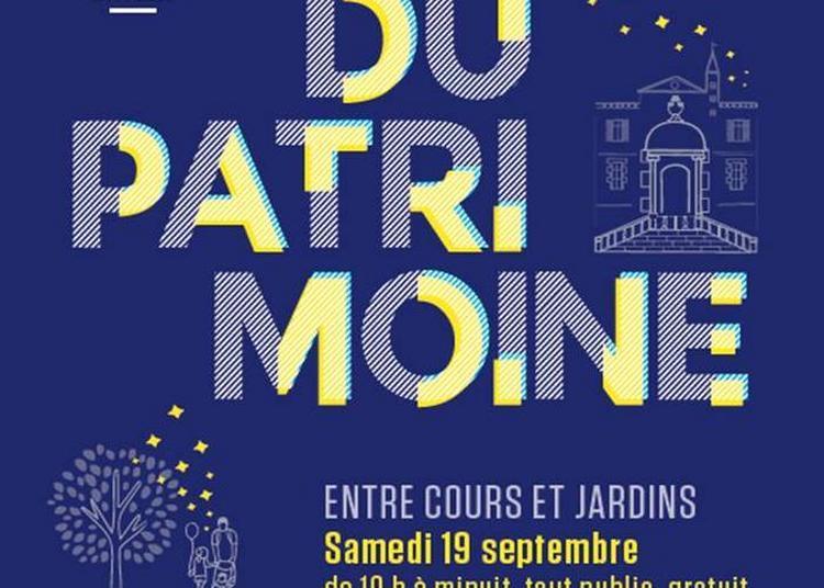 3e Nuit Du Patrimoine Entre Cours Et Jardins à Toulouse