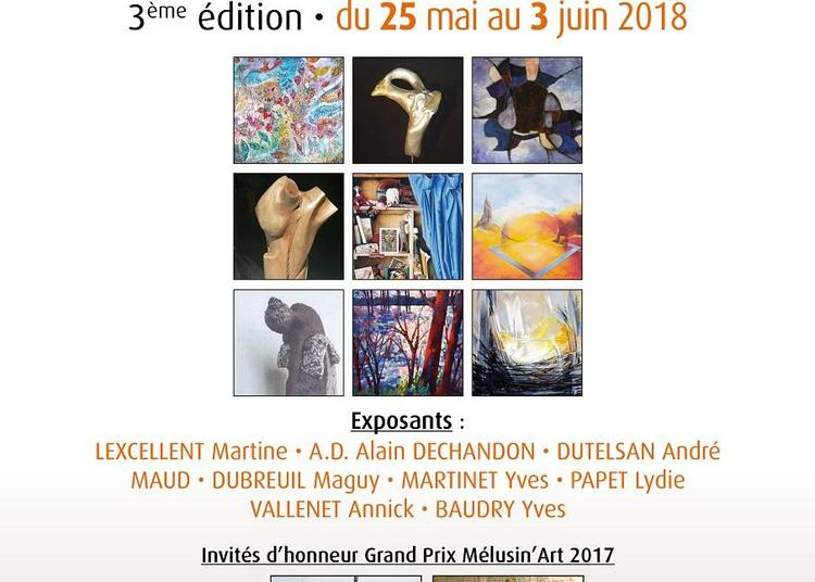 3ème Salon des Lauréats de Mélusin'Art 2017 à Vouvant