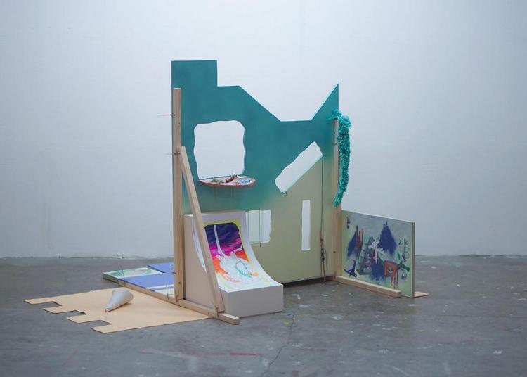 Art contemporain - Résidence du duo d'artistes Galerie Rezeda à 40mcube à Rennes