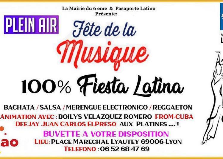 Fête de la musique 100% Latina à Lyon
