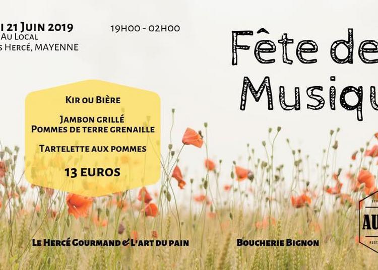 Fête de la Musique - Mayenne - Au Local
