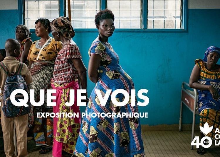 Ce que je vois - 40 ans d'Action contre la Faim à Paris 4ème