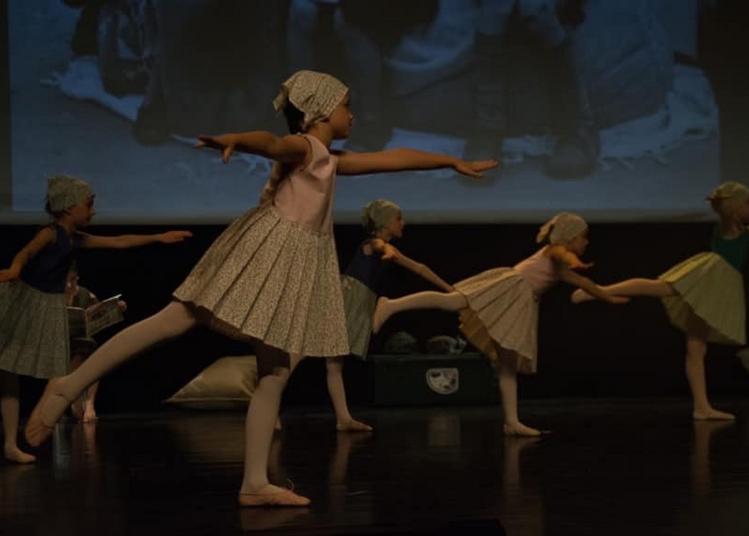 Spectacle de l'association arabesque de domart en Ponthieu à Albert