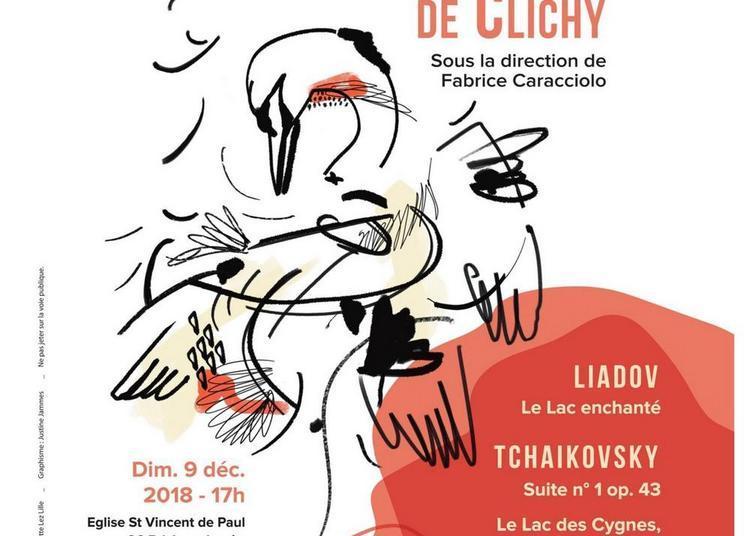 Concert Liadov Tchaikovsky à Clichy