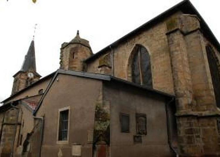 A La Découverte D'une Église À L'histoire Architecturale Compliquée à Vic sur Seille