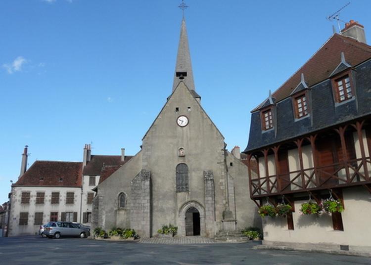 À La Découverte De L'église De Boussac