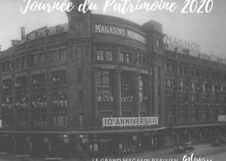 A La Découverte De L'histoire Des Galeries Lafayette De Strasbourg