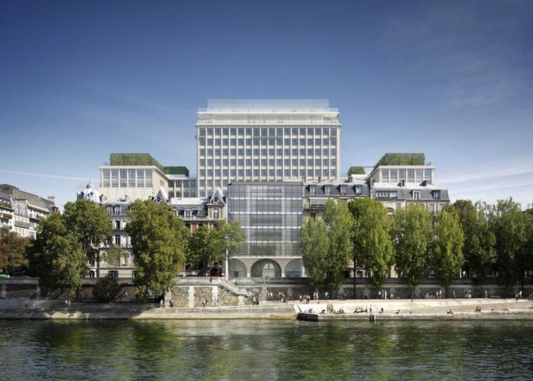 A La Découverte De L'incroyable Transformation De L'ancienne Préfecture Morland ! à Paris 4ème