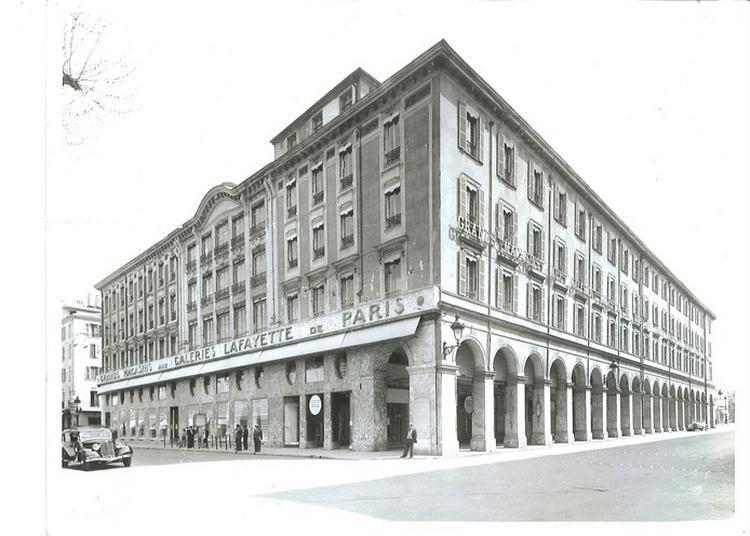 A La Découverte Des Galeries Lafayette De Nice