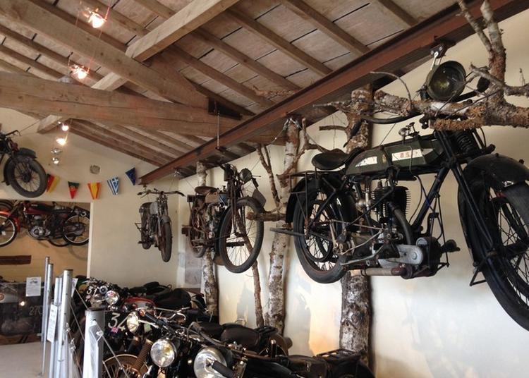 À La Découverte Des Motos Anciennes De Collection ! à Celles sur Belle