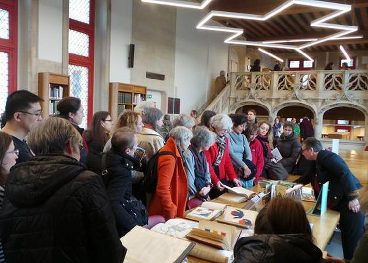 A La Découverte Des Oeuvres De La Bibliothèque Forney à Paris 4ème