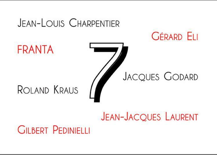 7 à la Galerie Depardieu à Nice