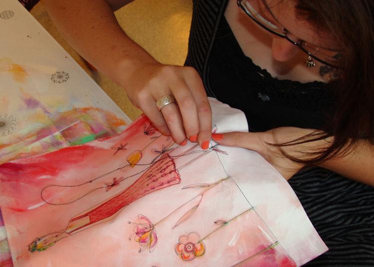 A La Rencontre D'une Artiste Designer Textile à Grandris