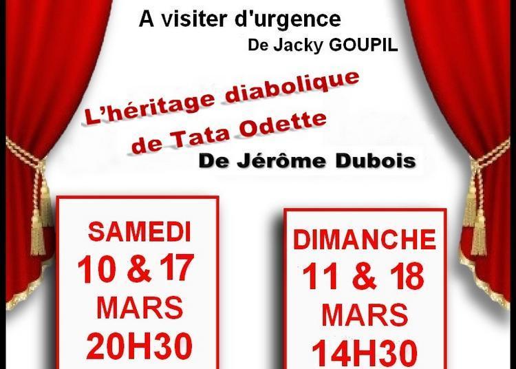 A visiter d'urgence / L'héritage diabolique de tata Odette à Becherel
