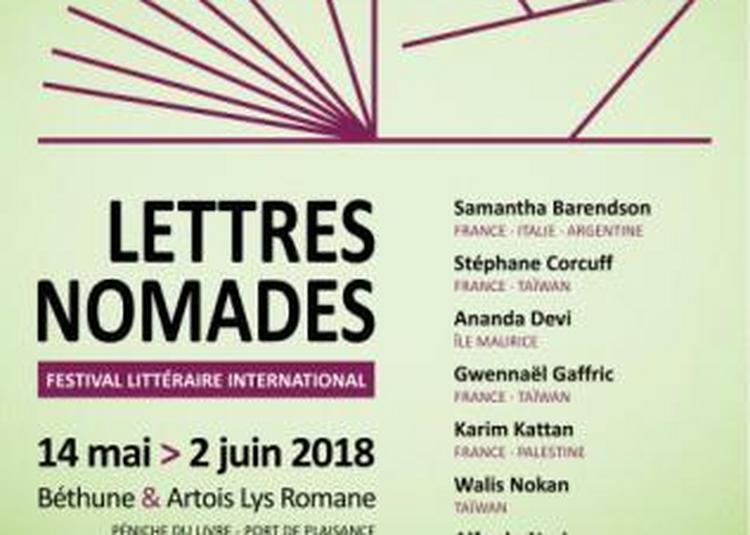 Festival littéraire international Lettres Nomades 2018