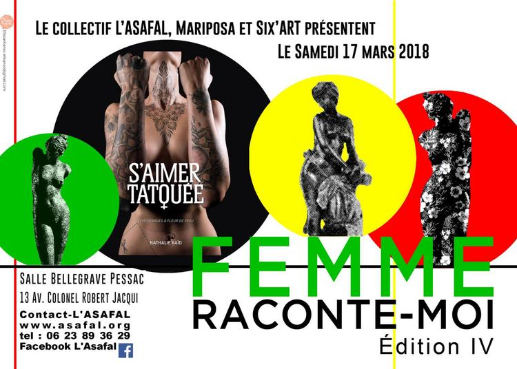 Femme Raconte-Moi IV Édition 2018