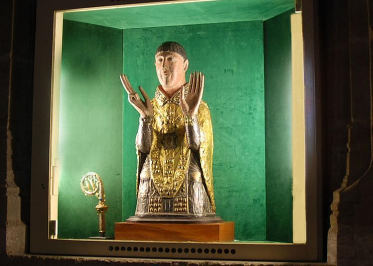 Abbatiale Saint-cesaire à Maurs