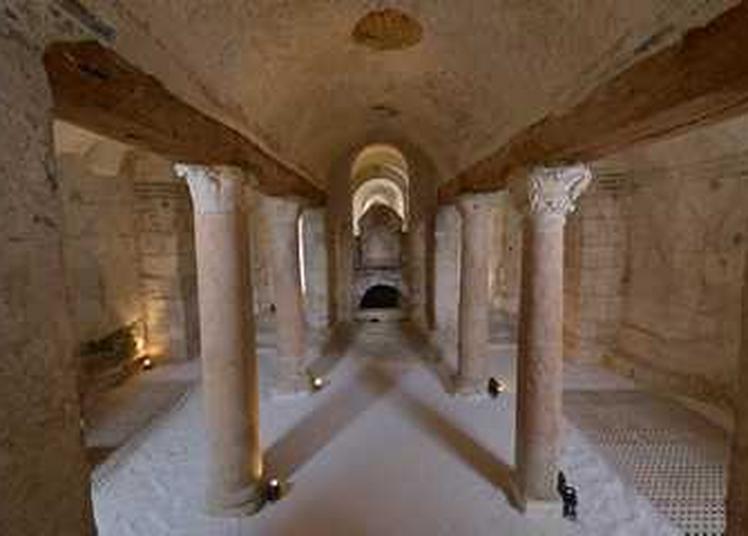 Abbaye Saint-Germain - Visite guidée des cryptes à Auxerre