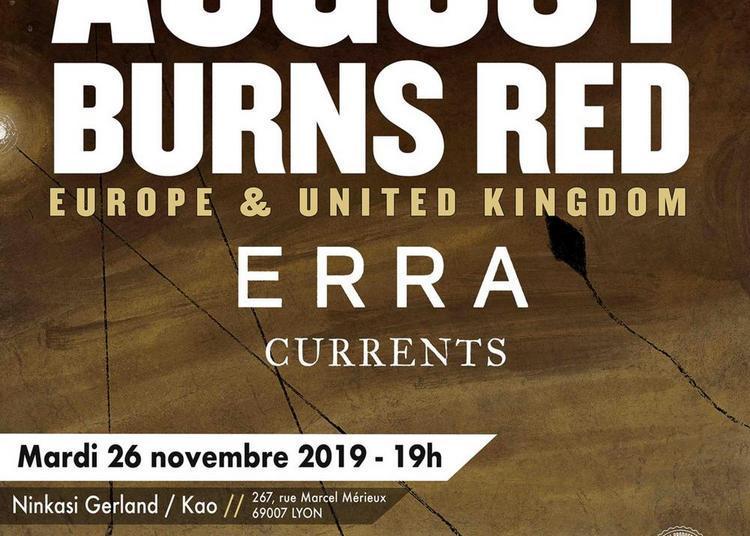 August Burns Red, Erra Et Currents à Lyon