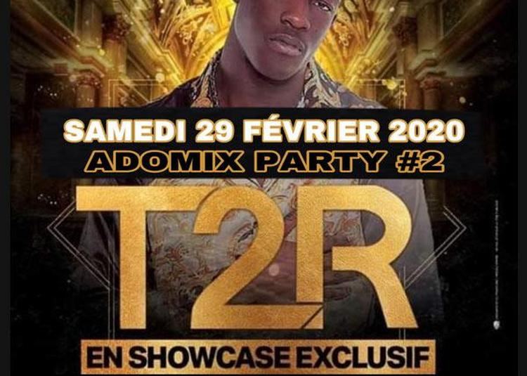 Adomix Party 2 Feat T2r En Showcase à Paris 17ème