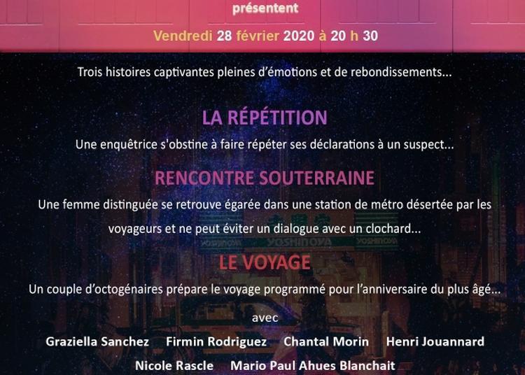 Au théâtre ce soir  avec 3 courtes pieces à Saint Etienne