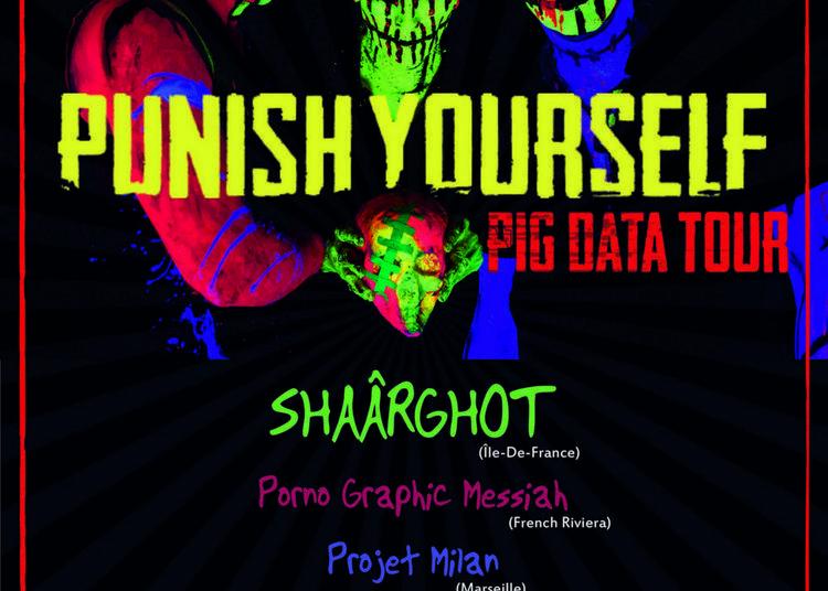 Punish Yourself en concert - le Pig Data Tour à La Valette du Var