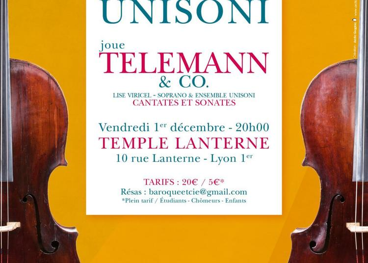 Telemann and Co à Lyon