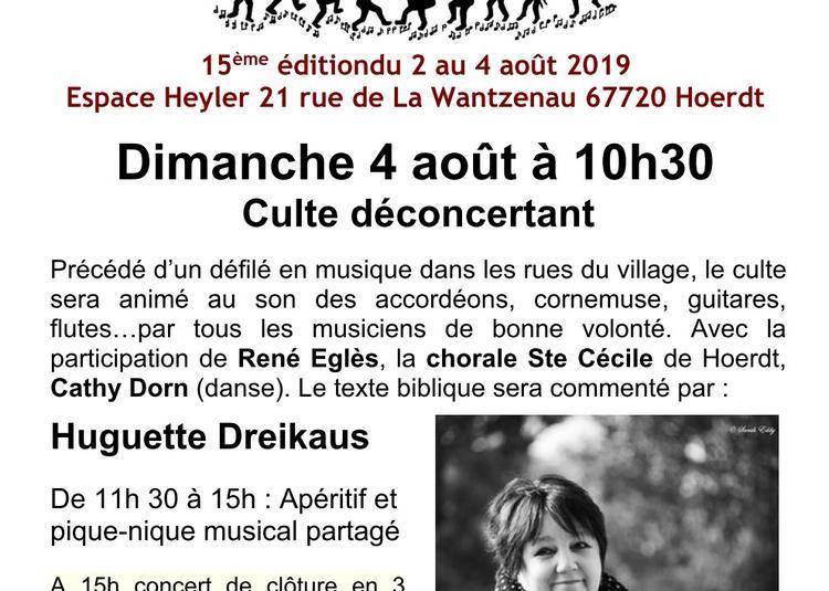 Festival Music in - Music'Aout - Culte déconcertant et concert de clôture 2019