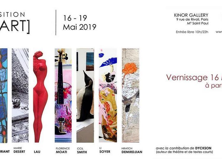 Expo du Collectif [WeART] à Paris 4ème