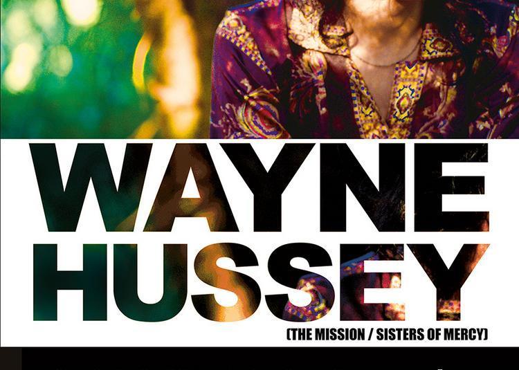 Wayne Hussey à Brest