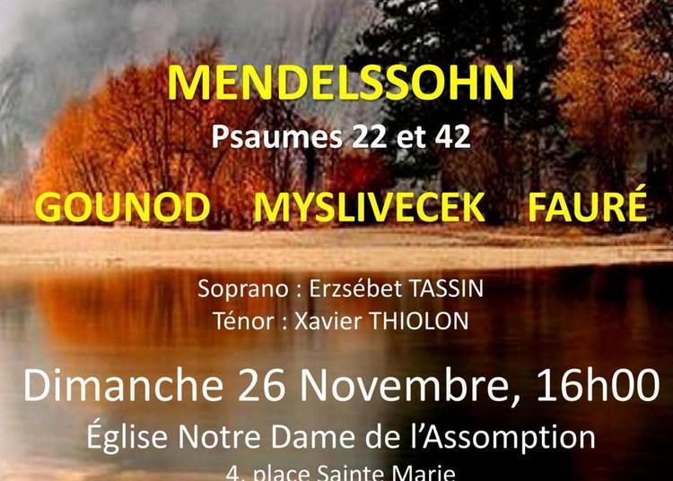 Concert Mendelssohn Du  ChOEur De Chambre De Versailles à Chatou