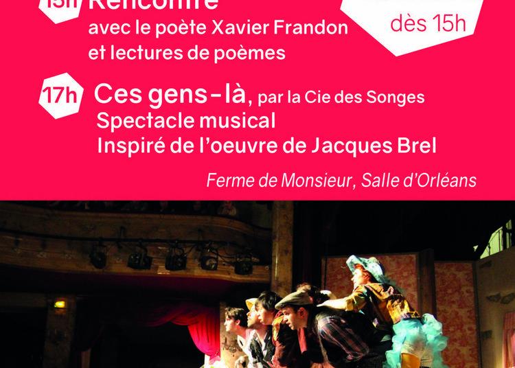 Ces Gens-là - Théâtre Musical Inspiré De L'oeuvre De Jacques Brel à Mandres les Roses