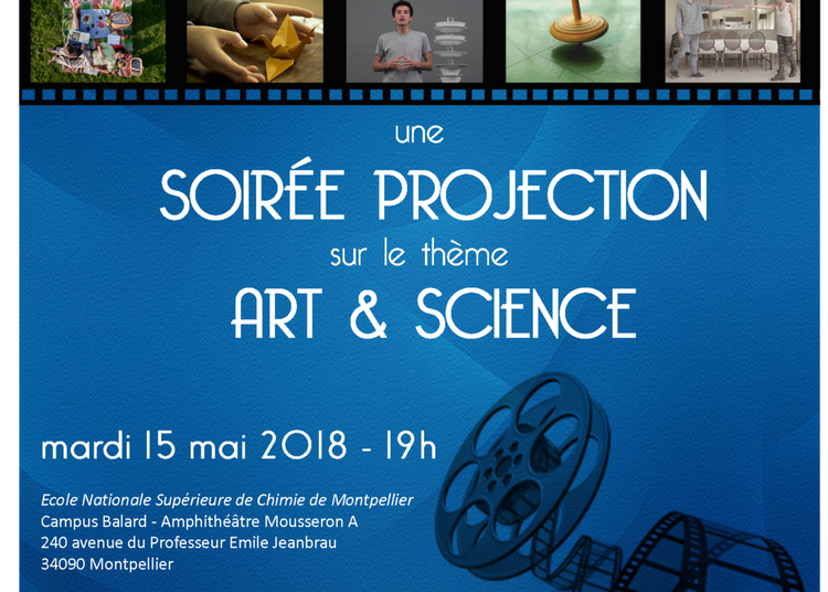 Soirée Projection Art & Science (COSA) à Montpellier