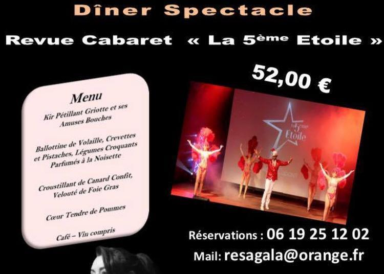 Diner Spectacle Revue Cabaret à Aizenay