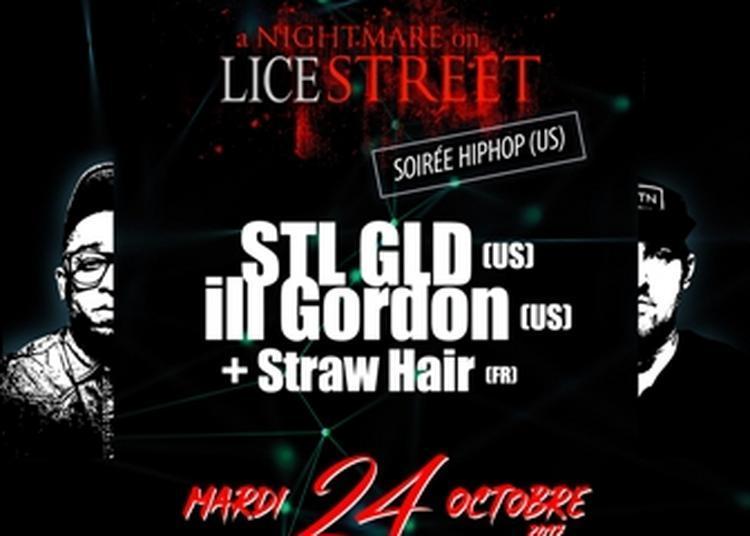 Soirée Hip Hop US -Stl Gld, Ill Gordon et StrawHair à Rennes