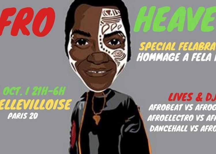 Afro Heaven - Afro Vibes Party : Hommage A Fela Kuti à Paris 20ème