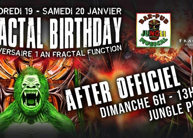 AFTER Officiel | Fractal Birthday à Montpellier