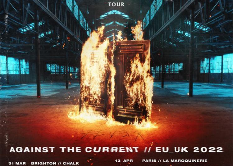 Against The Current à Paris 20ème