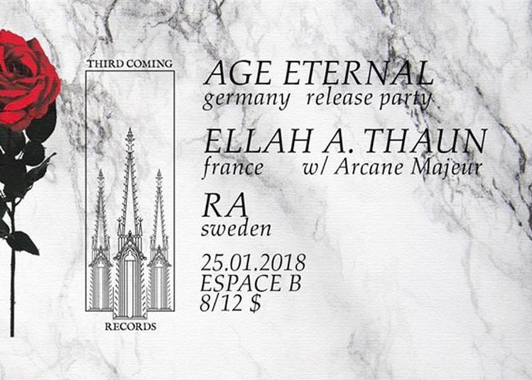 Age Eternal, Ellah A. Thaun, RA à Paris 19ème