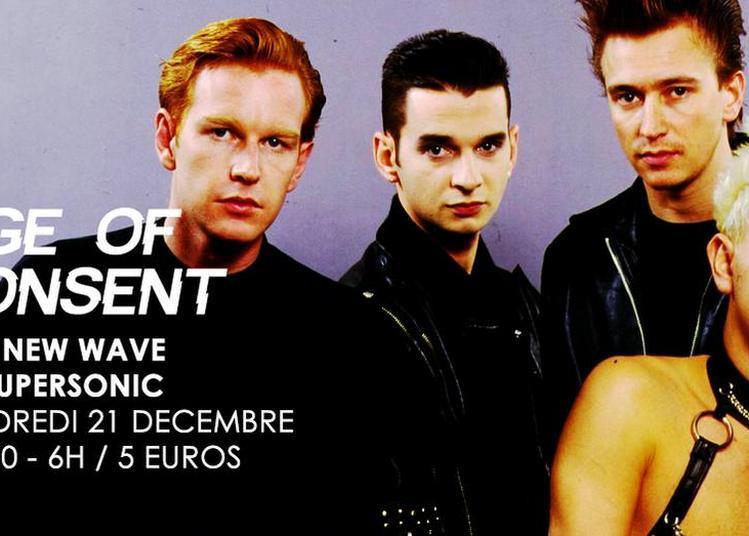 Age Of Consent / Nuit New Wave Du Supersonic à Paris 12ème