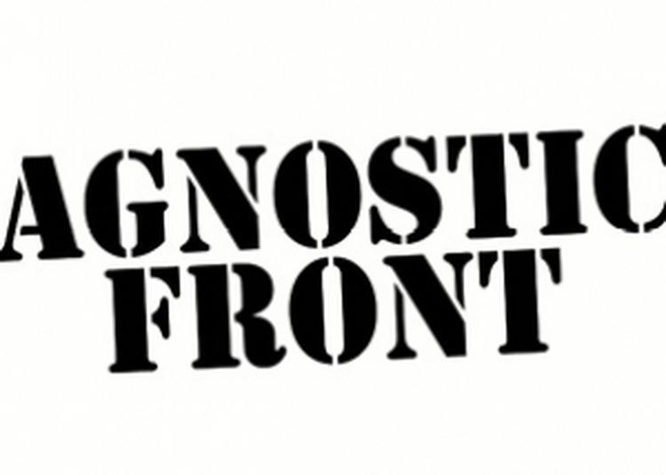 Agnostic Front + Nostromo à Besancon