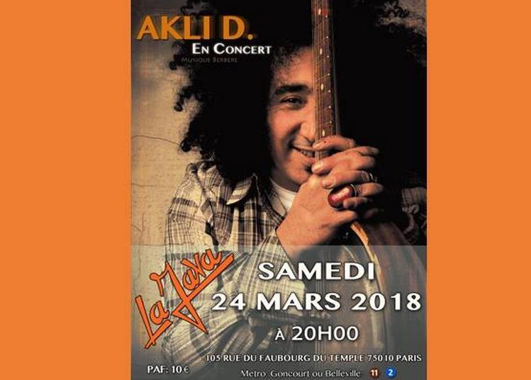 Akli D - Live à Paris 10ème