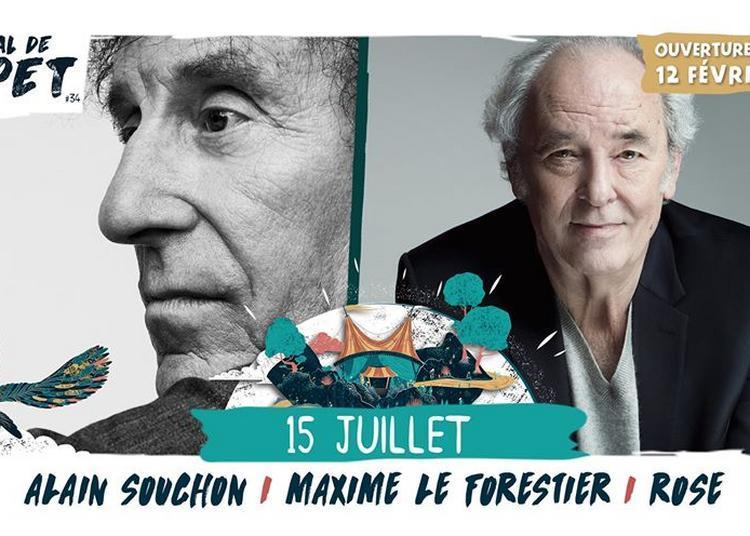 Alain Souchon / Maxime Le Forestier à Saint Malo du Bois