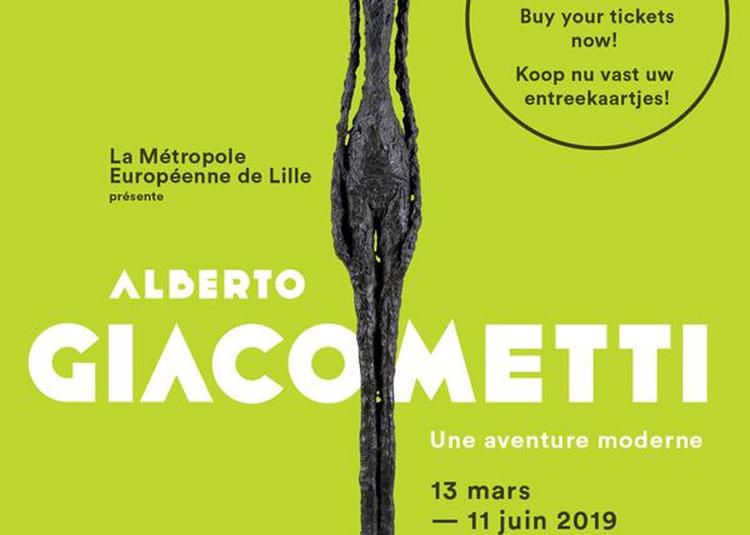 Alberto Giacometti. Une aventure moderne à Villeneuve d'Ascq