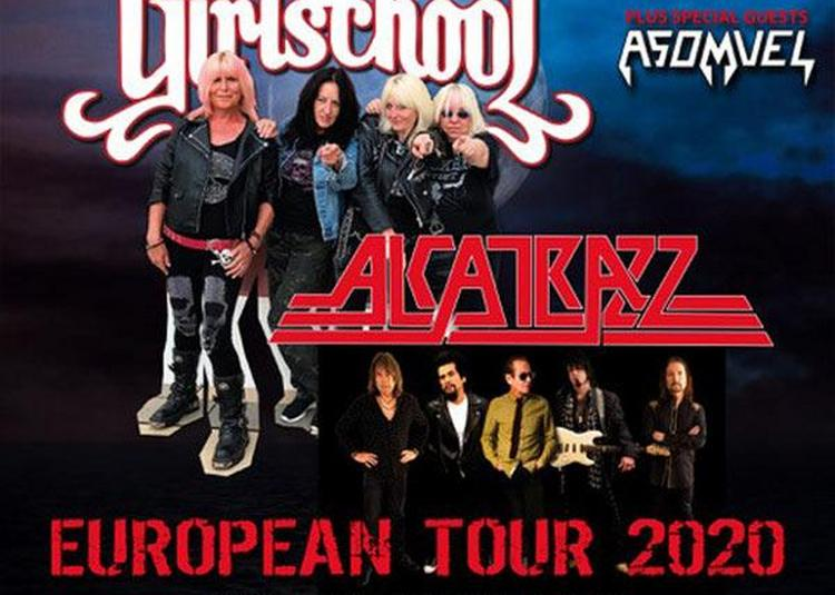 Alcatrazz   Girlschool - Asomvel - report à Bordeaux