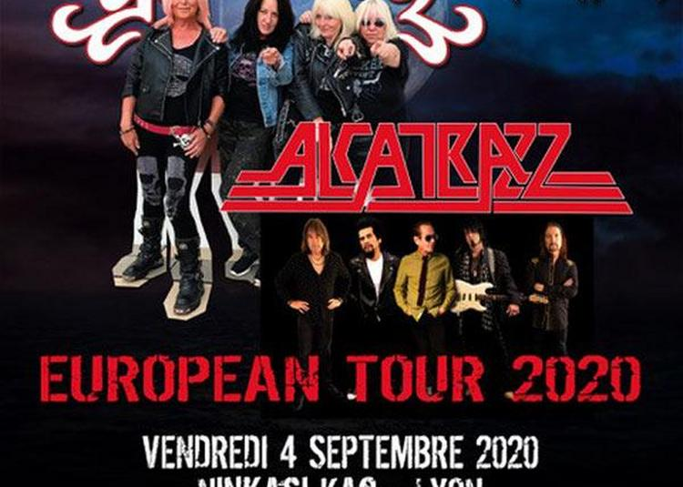 Alcatrazz + Girlschool à Lyon