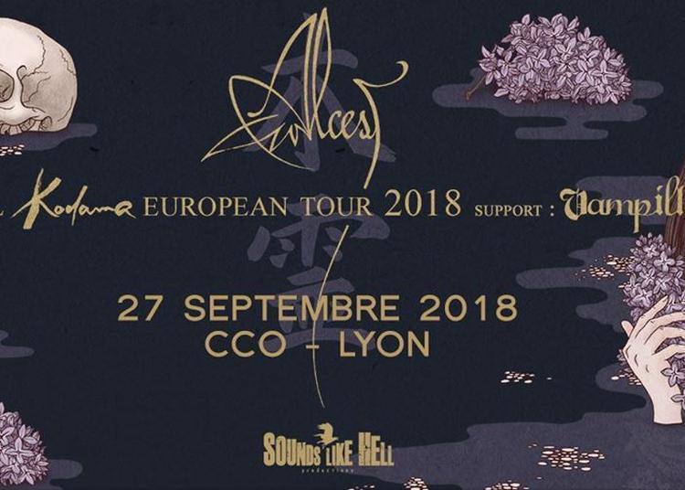Alcest et Vampillia à Lyon (CCO) à Villeurbanne