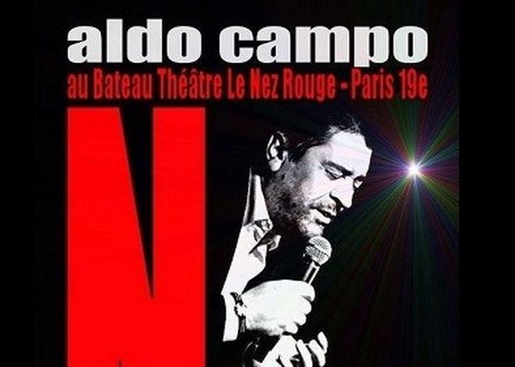 Aldo Campo - Nougaro Emoi à Paris 19ème