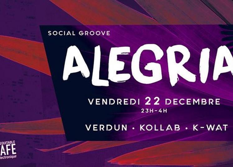 Alegria - Social Groove à Nantes